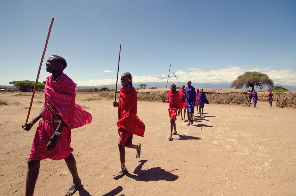 Maasai Dance Preparations