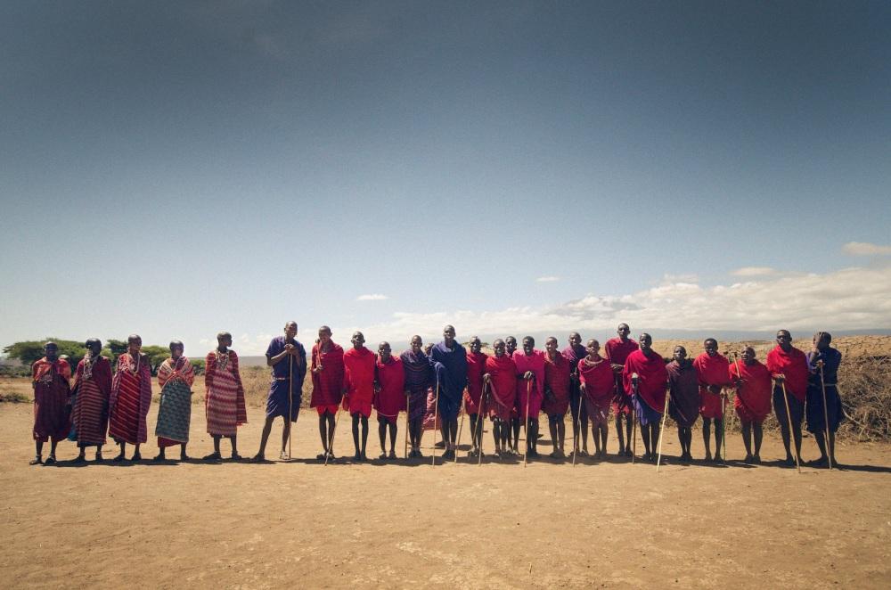 Maasai Line Dance, Kilimanjaro Village