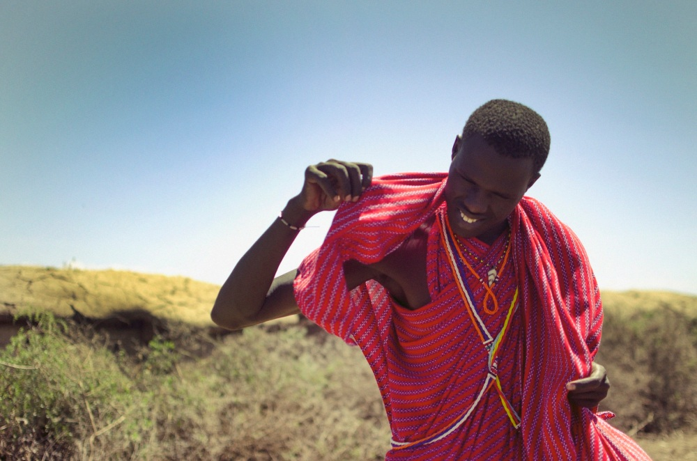 Male Maasai Warrior
