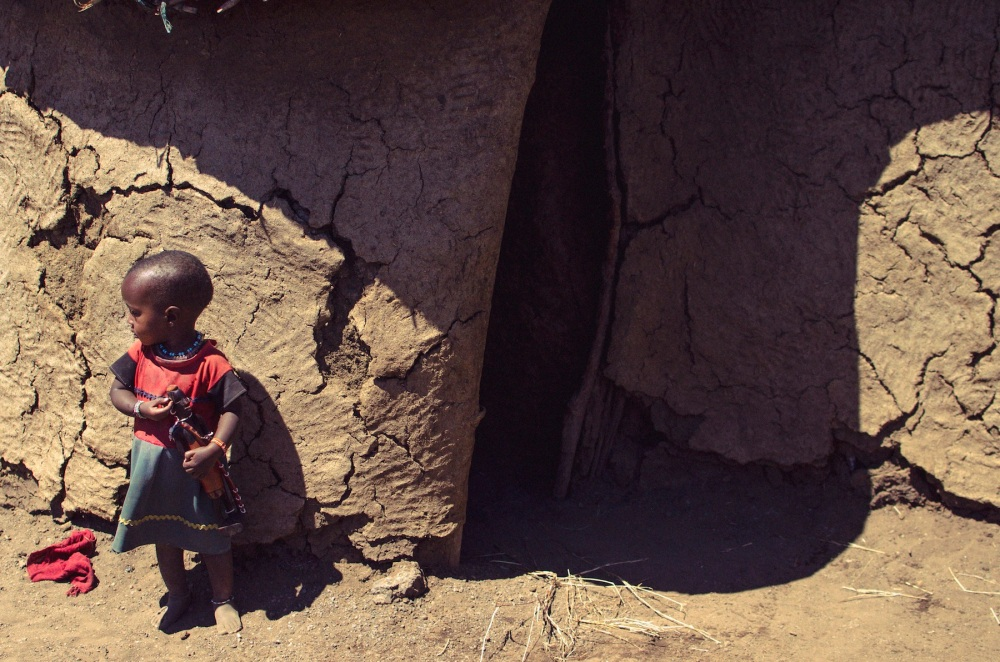Portrait of a Masai Girl
