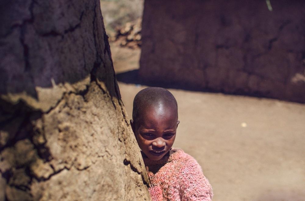 Portrait of a Maasai Girl