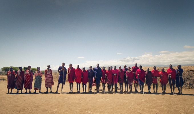 faces of the massai