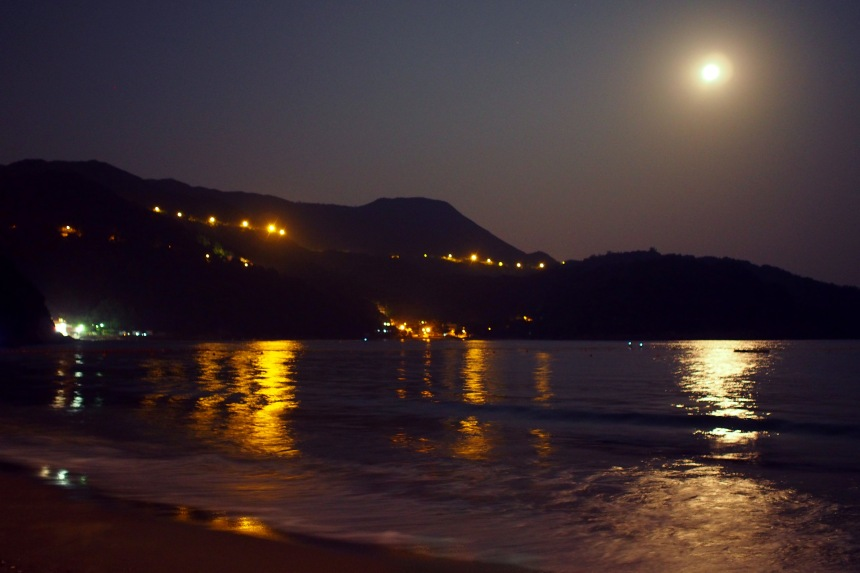 Clearwater Bay Second Beach - Full Moon