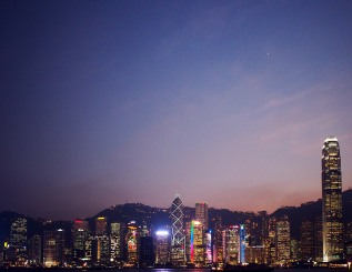 hong kong cityscapes