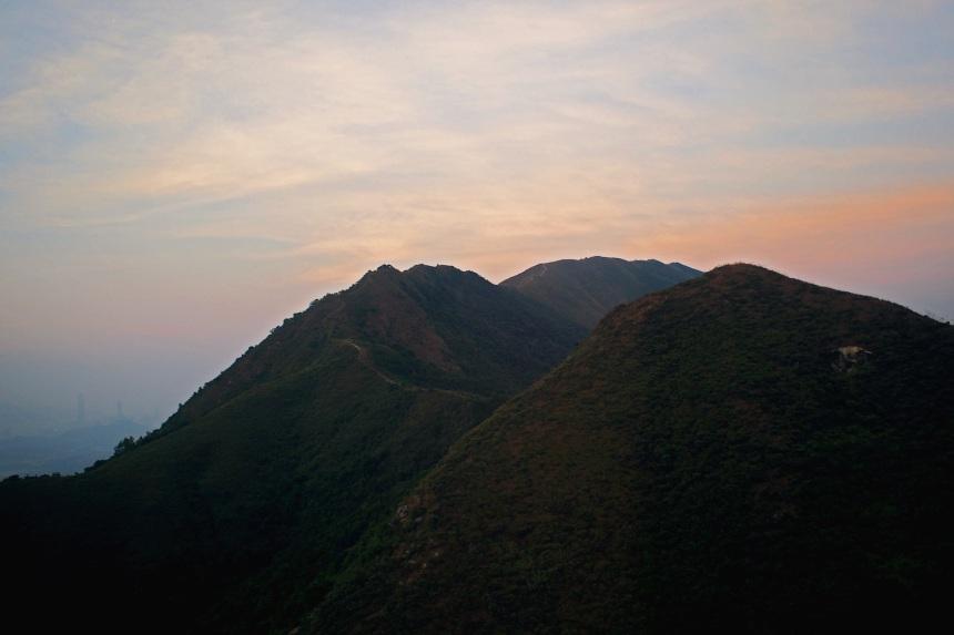 Tai Mo Shan Aerial