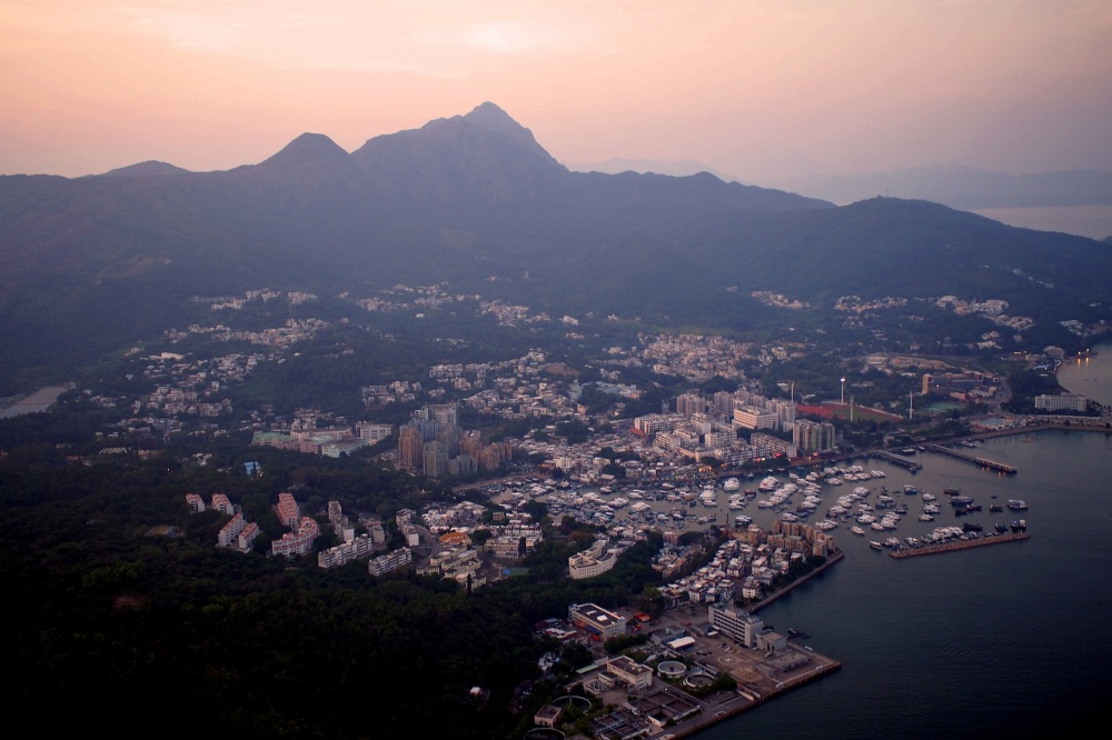 Sai Kung from Above