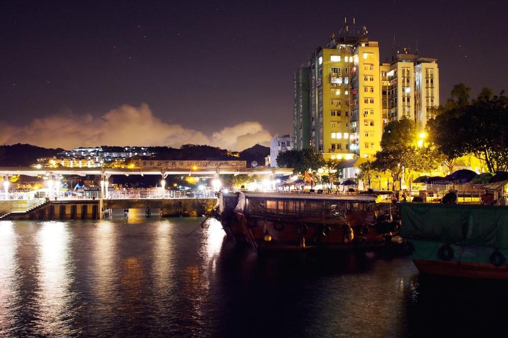 Sai Kung by Night