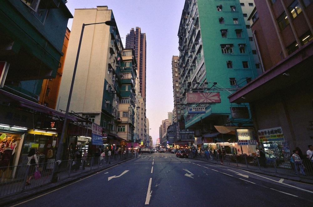 Wide Angle of To Kwa Wan
