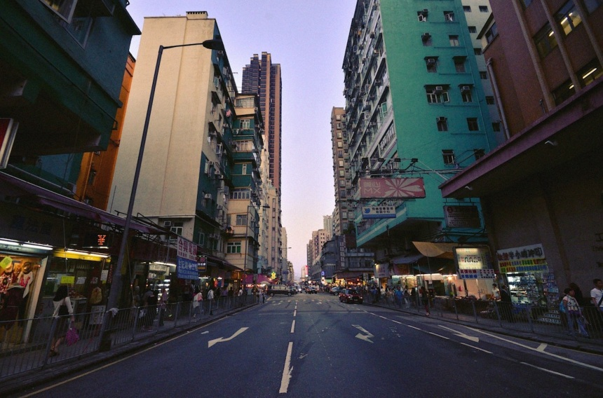 Wide Angle of To Kwa Wan