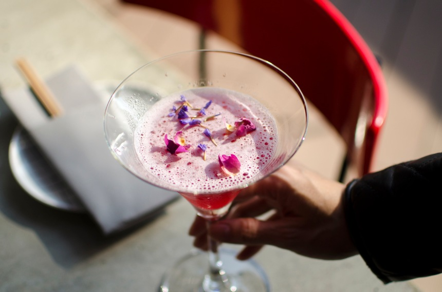Pinot Duck-Cocktail
