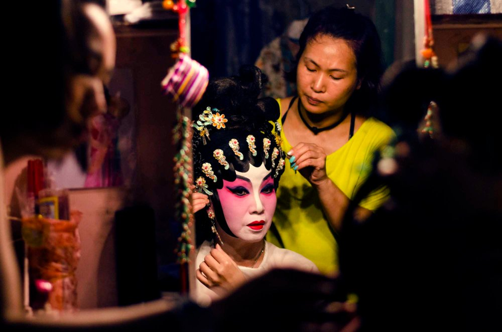 Behind the Scenes of the Sai Kung Chinese Opera
