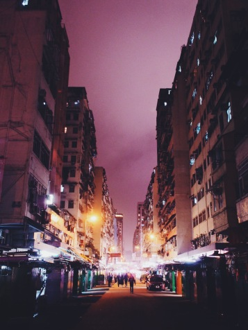 Fa Yuen Street Night Lights