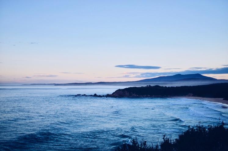 Sunrise at Potato Point